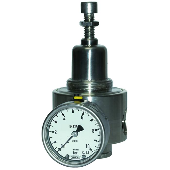 Stainless steel pressure regulators and filters 1.4404