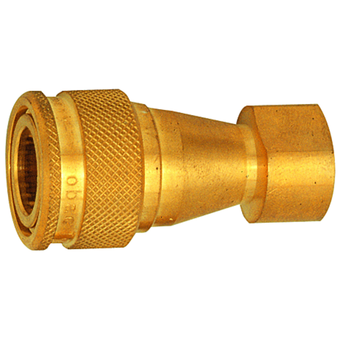 Hydraulic couplings brass