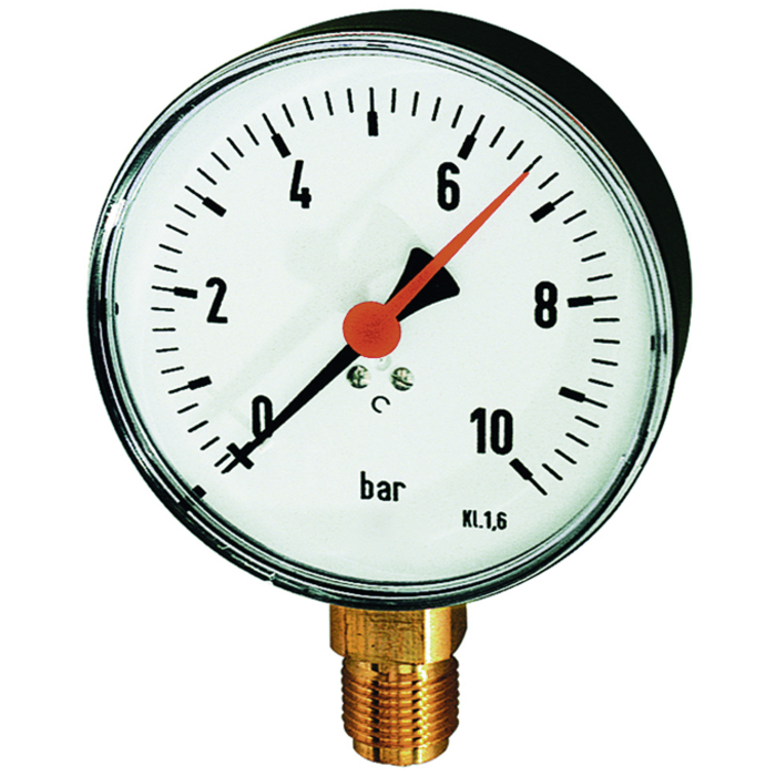Standard pressure gauges 40, 50 ,63, 80, 100, 160 mm