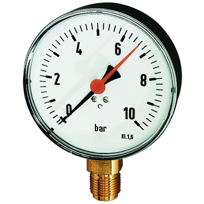 Standard pressure gauges (panel-mounting type)