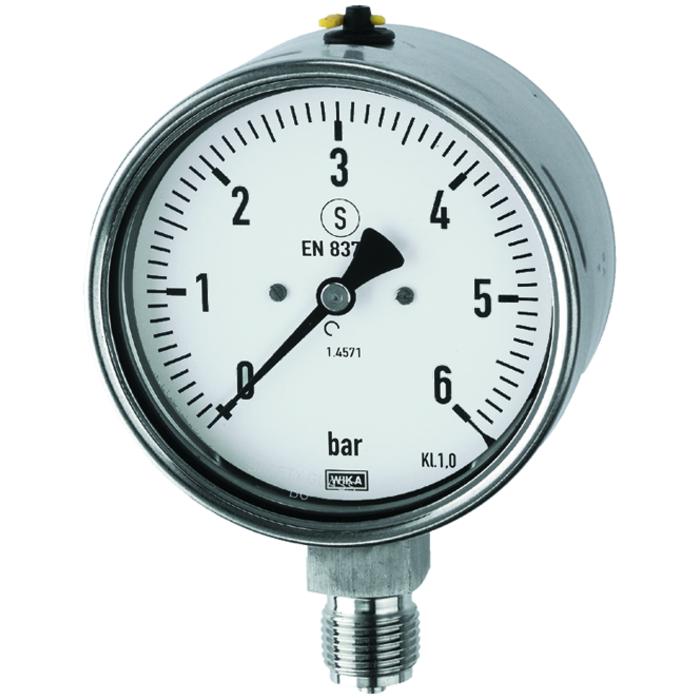 Stainless steel pressure gauges, Special pressure gauges