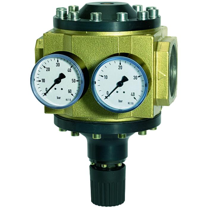 Pressure regulators and filters for high pressures