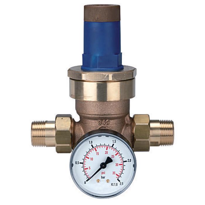 Pressure regulators for water and liquid