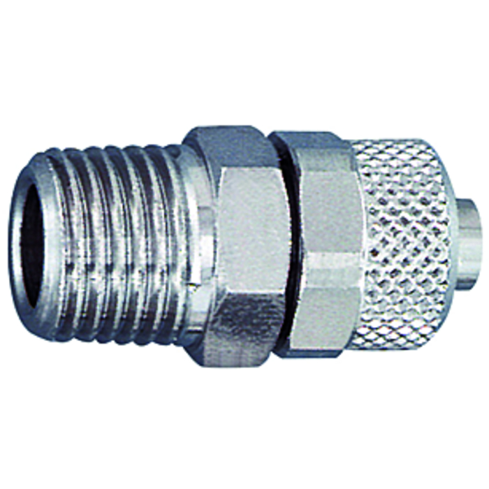 Screw fittings »Nickel-plated brass«