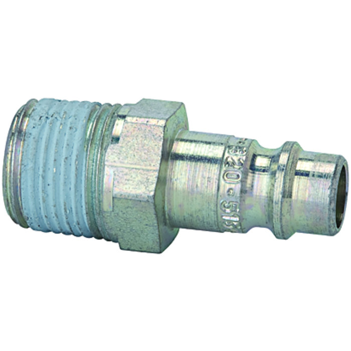 Stems and plugs for couplings DN 7.2 - DN 7.8, hardened, galvani