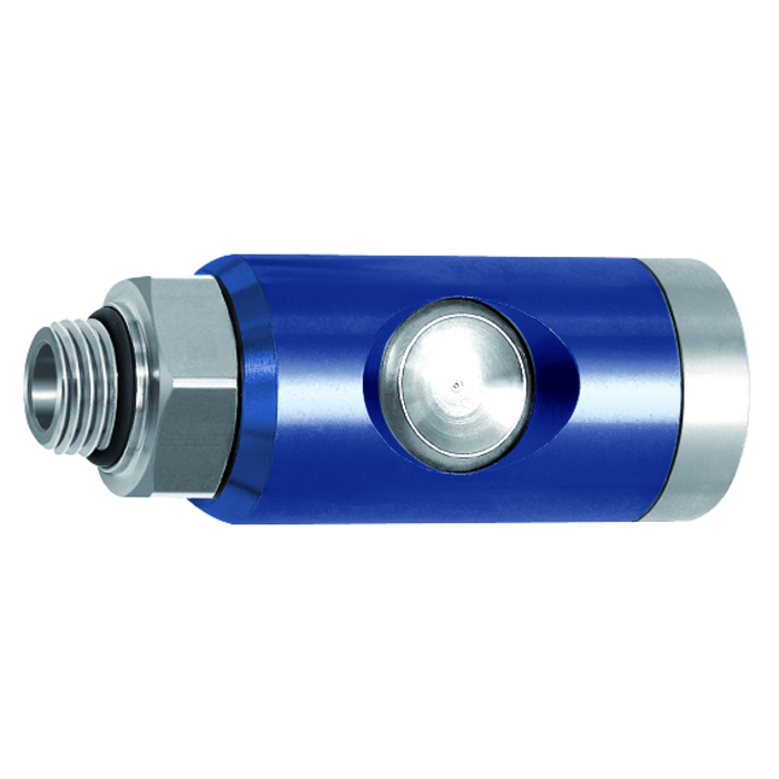 Safety couplings pushbutton type