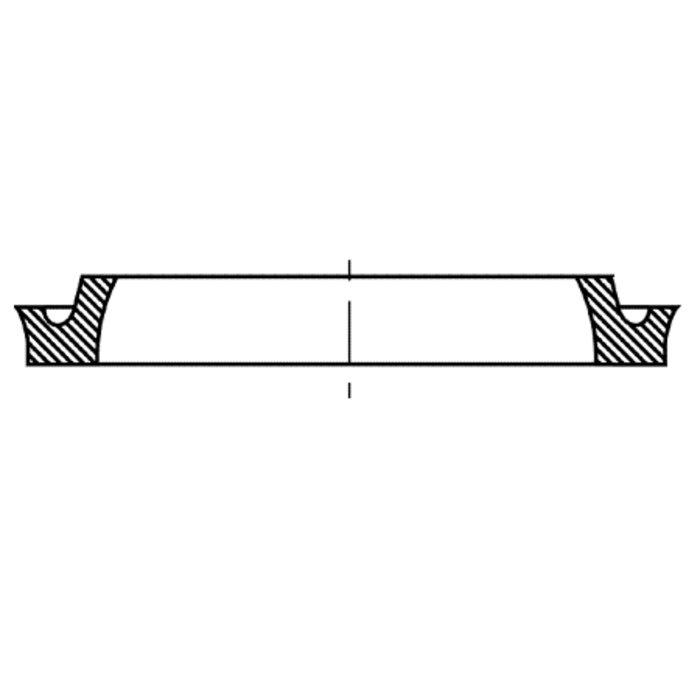 Piston groove rings type DDE, DDEM, DDEM-P
