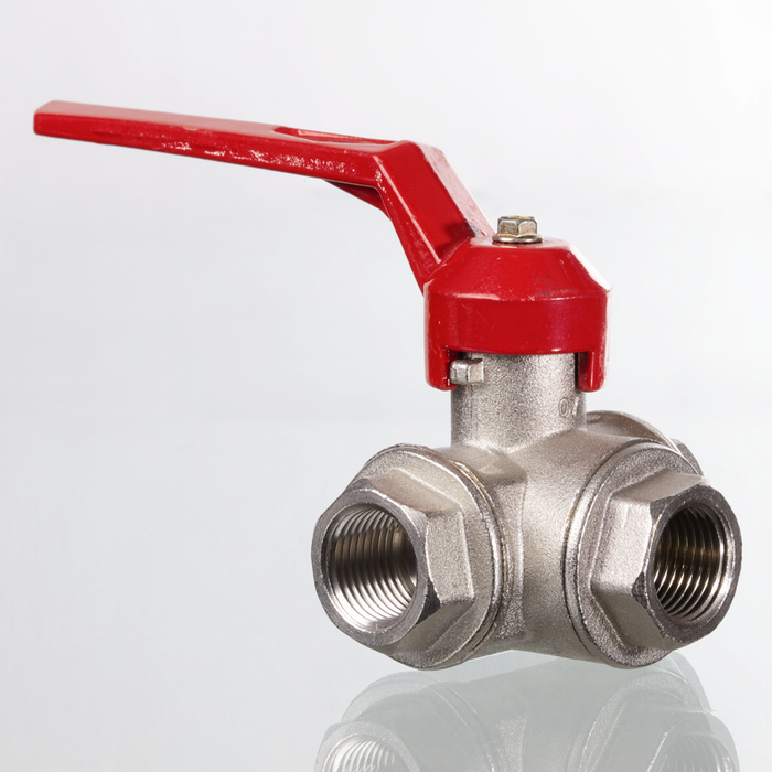 3-way ball valves - all sides L, T