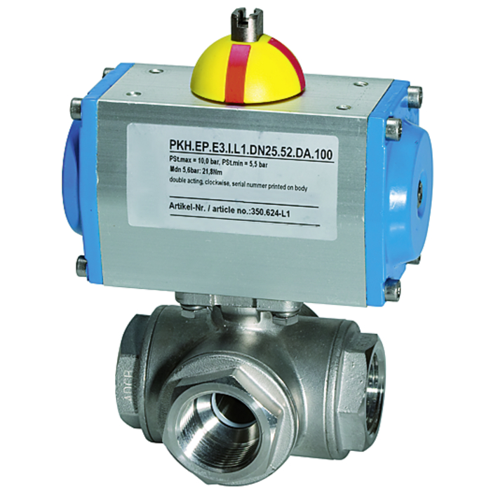 Stainless steel ball valves 3-way