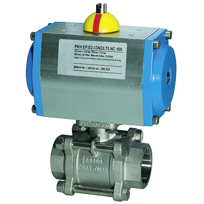 Stainless steel ball valves 2-way