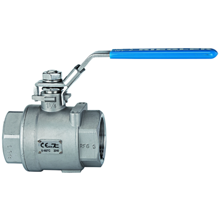 Ball valves stainless steel - full bore
