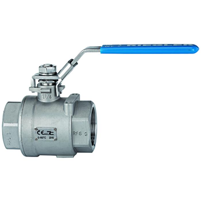 Ball valves stainless steel - full bore