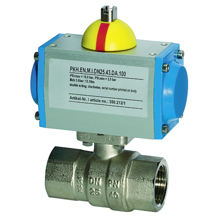 Brass ball valves 2-way