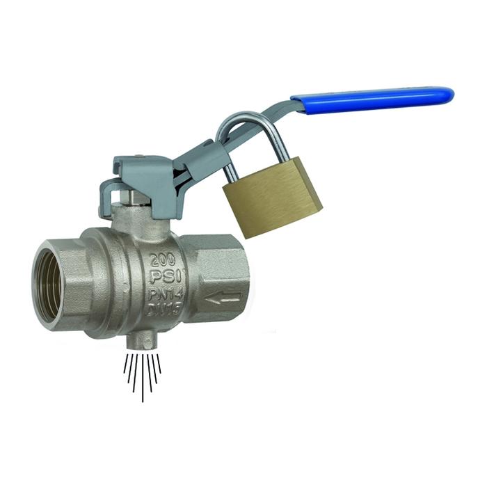 Safety ball valves