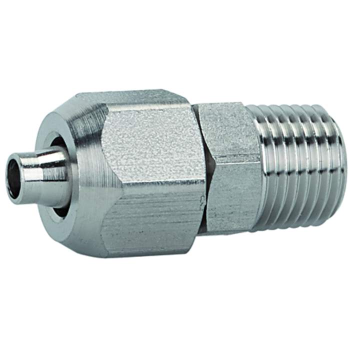 Screw fittings  »Stainless steel 1.4404« without seals