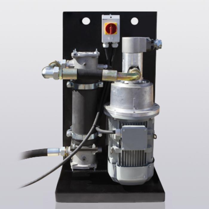 Blakus plūsmas filtrēšanas iekārtas