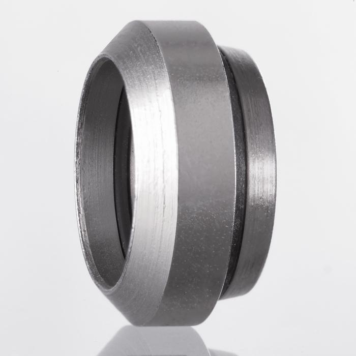 Griešanas gredzens ar apaļa šķērsgriezuma gredzenu