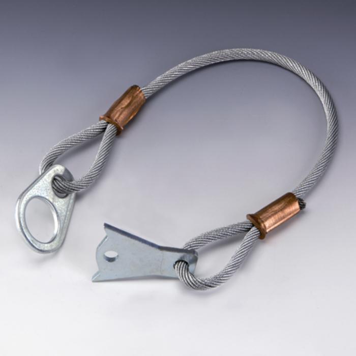 Kabeļa - cilpas - āķa komplekts