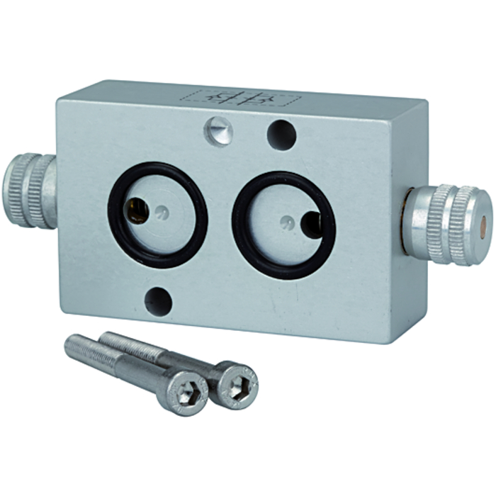 Flow regulators for NAMUR valves