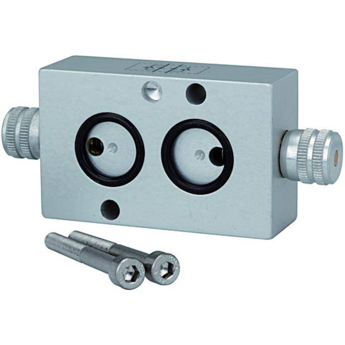 Flow regulators for NAMUR valves