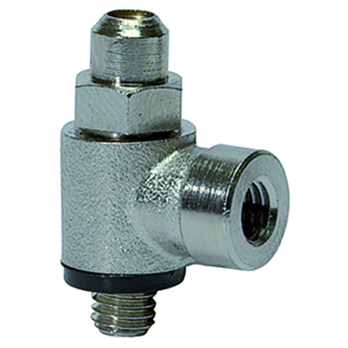 Flow control valves slotted screw C