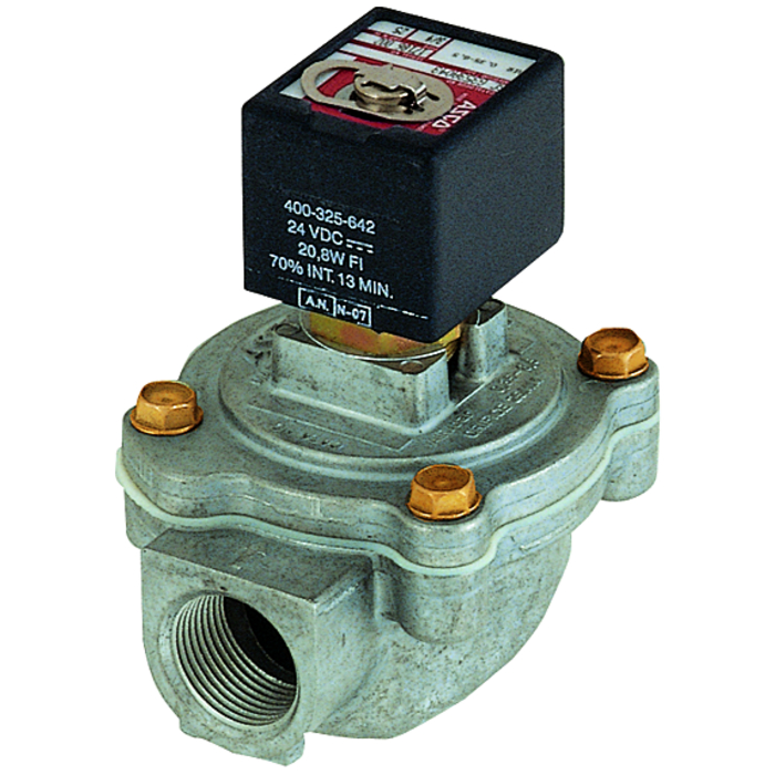 Diaphragm pulse valves