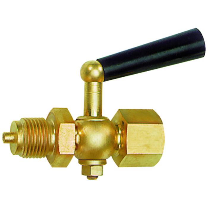 Pressure gauge stopcocks