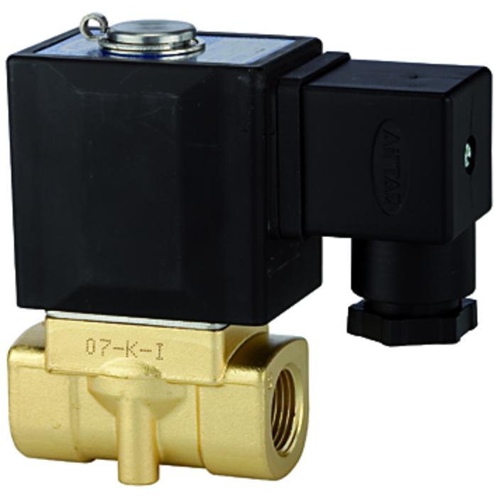 solenoid valves brass