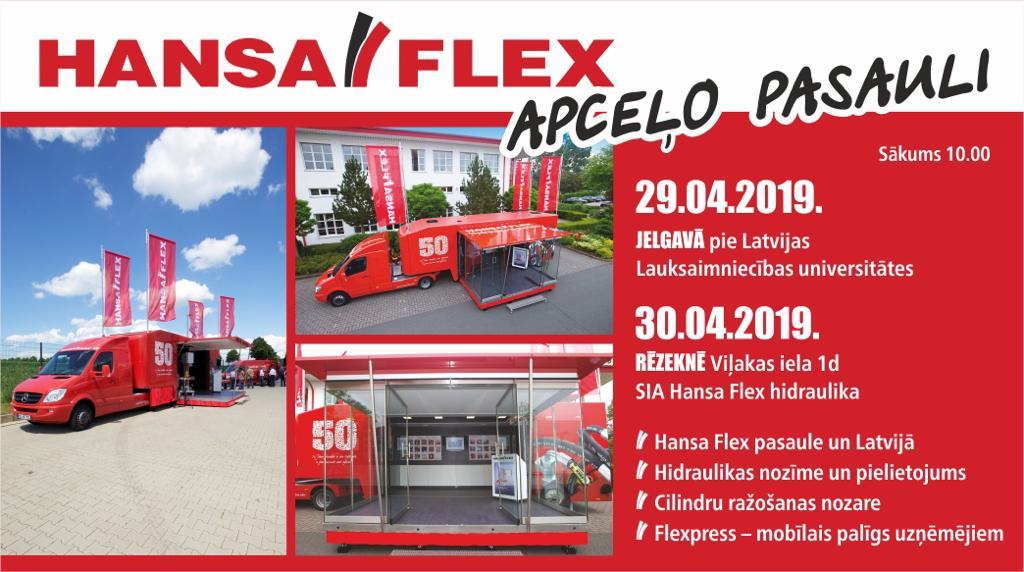 Show Truck Jelgavā un Rēzeknē